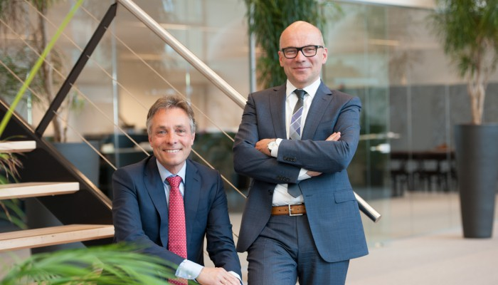Frans van der Linde en Jan van der Windt
