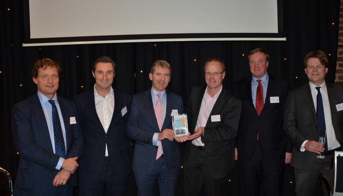 Winnaar DCFA Deal of the Year Award 2014