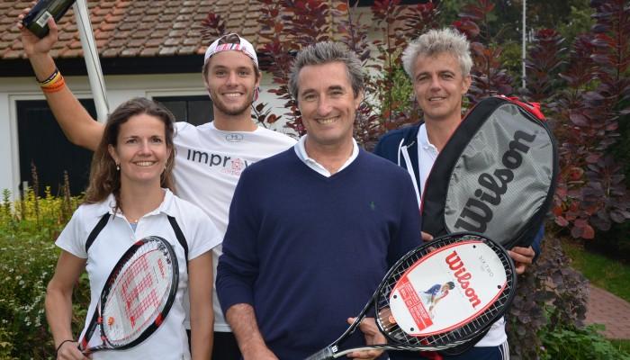 Tennisclinic voor M&A-adviseurs