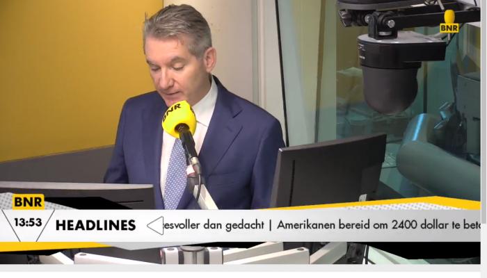 Robert De Boeck bij BNR Nieuwsradio